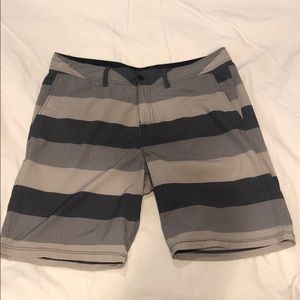 Vans swim trunks or hybrid shorts